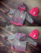 Softshellová bunda na přání, 74 - 152