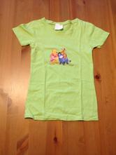 Bavlněné tričko s medvídkem pú, vel. 134, 134
