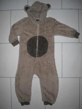 Chlupatkový overal - medvídek, next,98