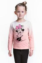 Mikina s minnie mouse h&m, velikost 110/116, h&m,110 / 116