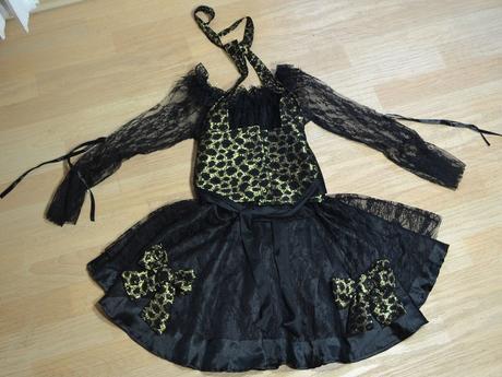 Šaty černé, l