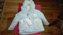 F&f kabátek pro kluky 9-12měsíců vc. posty, f&f,80