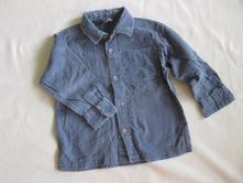 Manžestrová košile, h&m,92