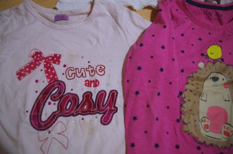 5x tričko na holku 110-116 (4-6let) ,