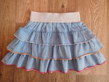 Riflová sukně vel. 104/110, reserved,110