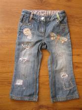 Vyšívané džíny, next,98