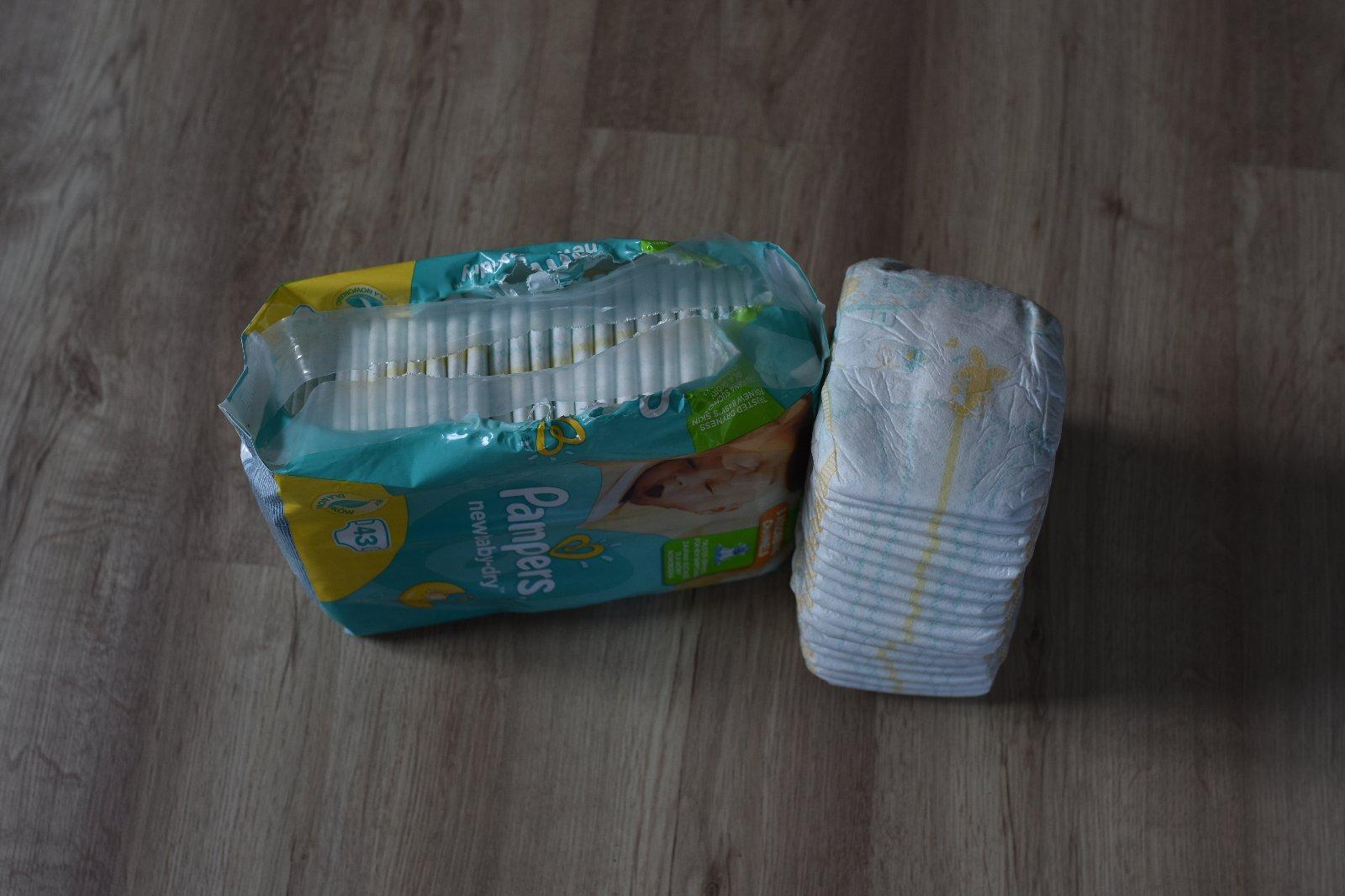 322fb14b1 Plenky, pampers,2 kg - 6 kg - 190 Kč Od prodejkyně mokriz | Dětský bazar |  ModryKonik.cz