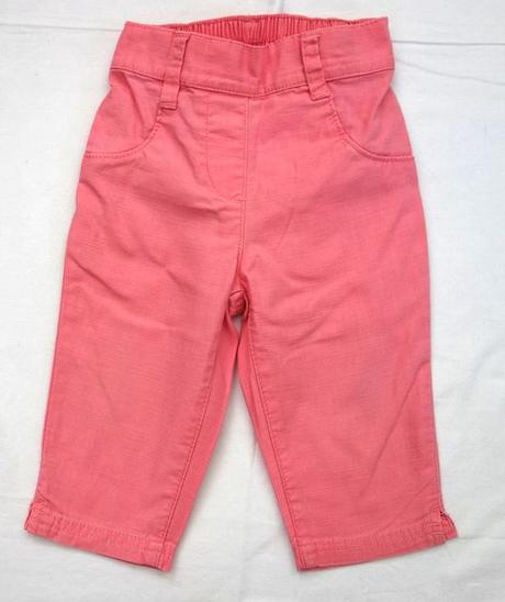 Kalhoty plátěné vel. 12 - 18 m, next,86