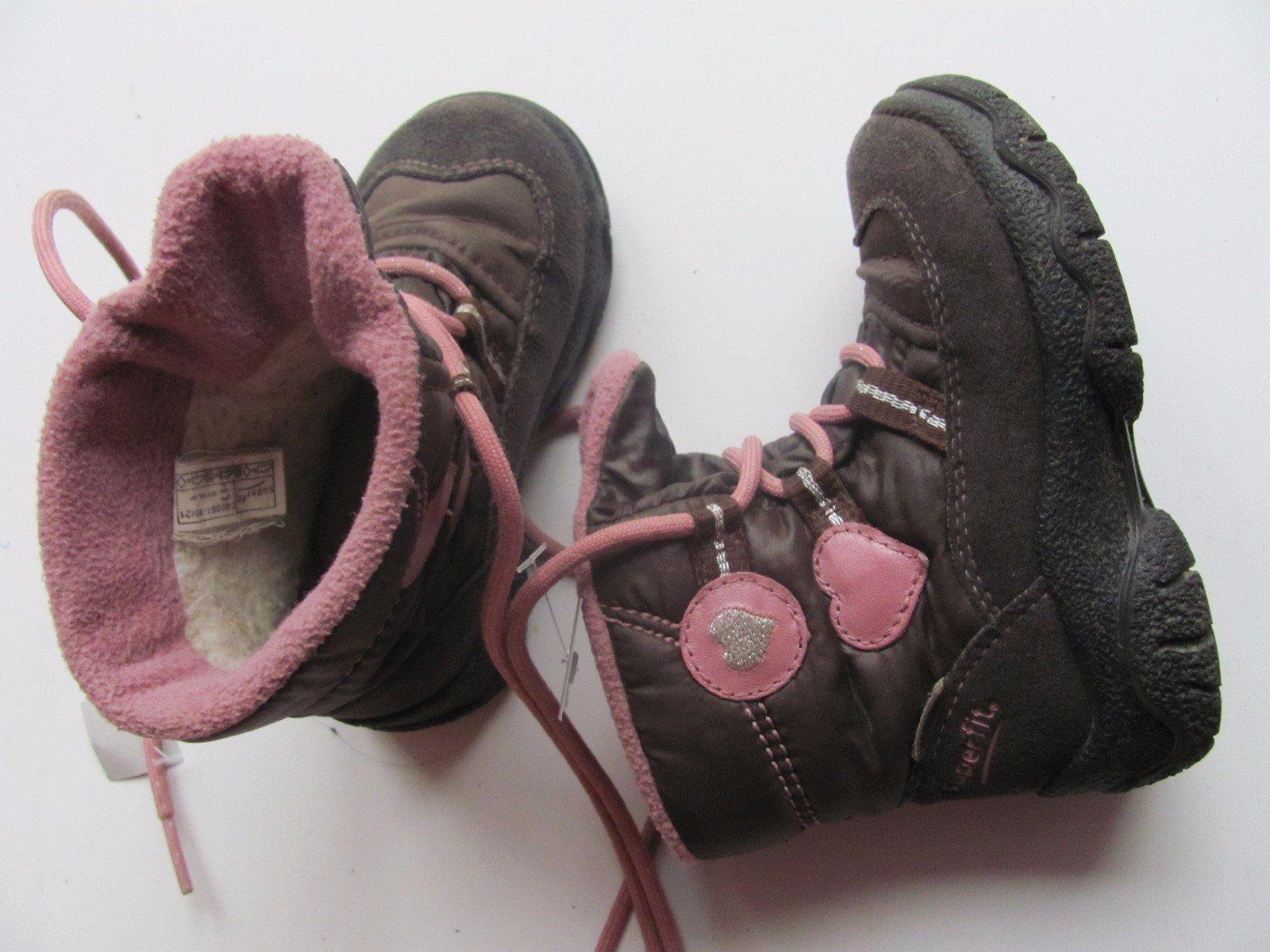 Dětská zimní obuv gore-tex superfit č. 546 51ea9c011a