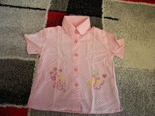 Letní košile,halenka zn.y-star mini -nkd vel.92, nkd,92