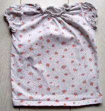 Kytičkované tričko, f&f,80