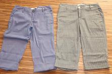 2x třičtvrteční kalhoty abercrombie fitch, abercrombie&fitch,s