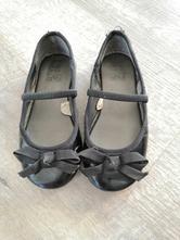Černé balerínky s mašlí, f&f,28