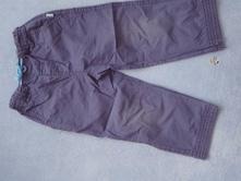 Tmavě modré kalhoty, okay,86