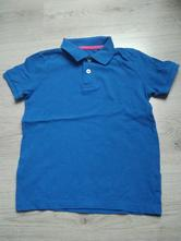 Modré tričko tex s límečkem, texbasic,116