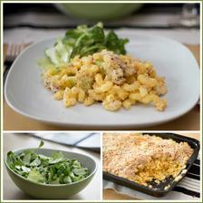 Květákové makarony, salát se zelenou zálivkou - Jamie Oliver