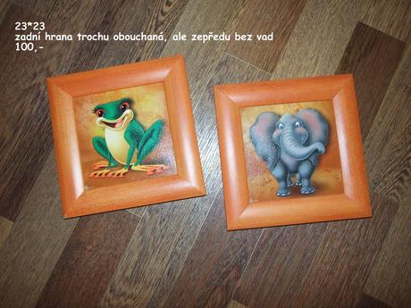 Obrázky do dětského pokoje,