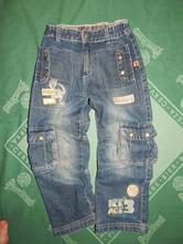 """Džínové kalhoty ,, doba ledová"""", c&a,116"""