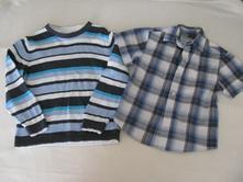 Komplet košile a svetříku, c&a,110
