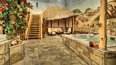 Sauna Klub Afrikána je součástí Babylonu Liberec. Privátní místo s úžasnou vířivkou, saunou a spoustou dalších věcí. Připadáte si tam jako na tropickém ostrově. My jsme v Babylonu strávili líbánky a v afrikáně byli několikrát. Nádhera.