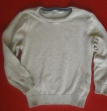 Bavlněný svetřík, h&m,98