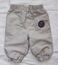 Am196. plátěné podšité kalhoty s mickey, disney,62