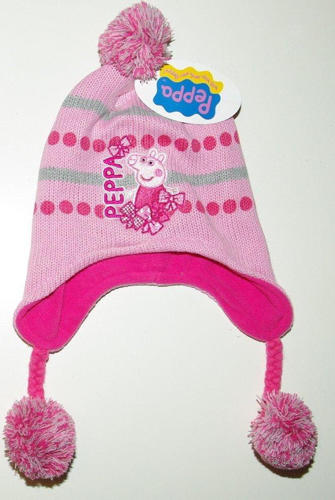 Zimní čepice ušanka peppa pig e364c3056a