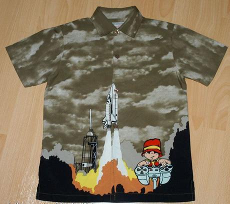 Chlapecká košile s krátkým rukávem, rebel,116
