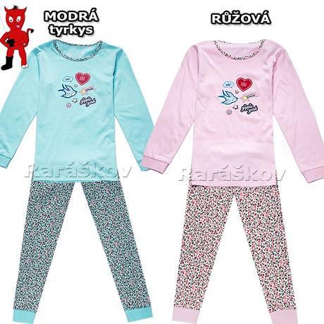 Bavlněné pyžamo pro holčičky, wolf, skladem, wolf,98 / 116