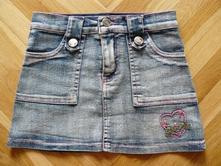 Riflová sukýnka / sukně, 104