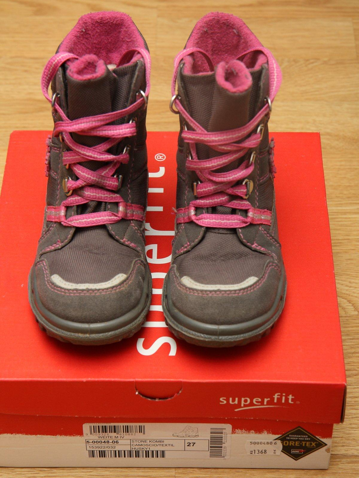 Zimní boty superfit s goretexem 69f21bf517