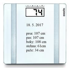 květen 2017   BMI 31,20  = obezita I. stupně
