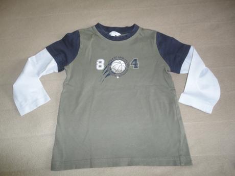 Školkové triko tcm (tchibo), vel. 98/104, tcm,104