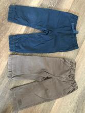 Kalhoty - plátěné 2ks, f&f,86