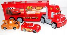 Cars auta 35cm kamion mack s autíčky,