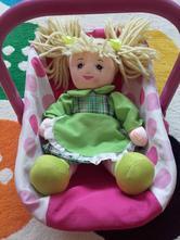Nosítko na panenky včetně panenky,