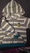 Mikina s kapuci, pepco,92