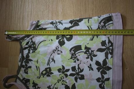 Tílko květované , h&m,152