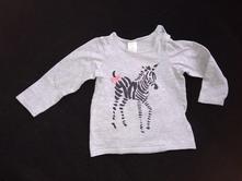 Bavlněné tričko, h&m,80