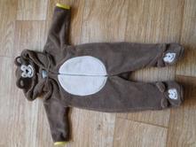 Teplý overal/kostým medvídek 0-3 měsíce, early days,56