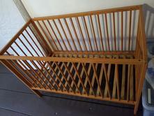 Dřevěná postýlka, 60,120