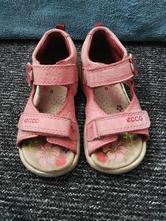 Kožené sandálky, ecco,25