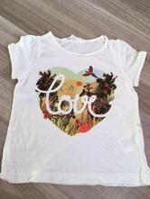 Třpytivé safari tričko, h&m,92