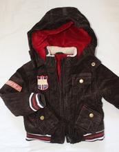 Bj9. zimní bunda 1-1,5 let, 86