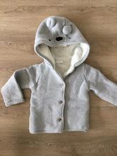 Teplý kabátek/svetr, f&f,80