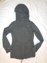 Luxusní káro kabát fishbone, fishbone,176