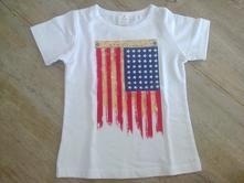 Tričko vlajka, h&m,86
