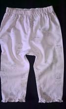Vel. 80 flanelové pyžamové kalhoty se zajíčky, george,80