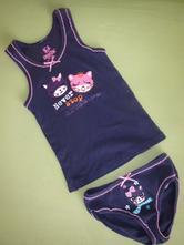 Dívčí košilka/tílko a kalhotky 98/104, lupilu,98