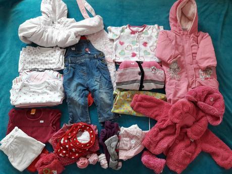 Set oblečení pro holčičku 9-12m,